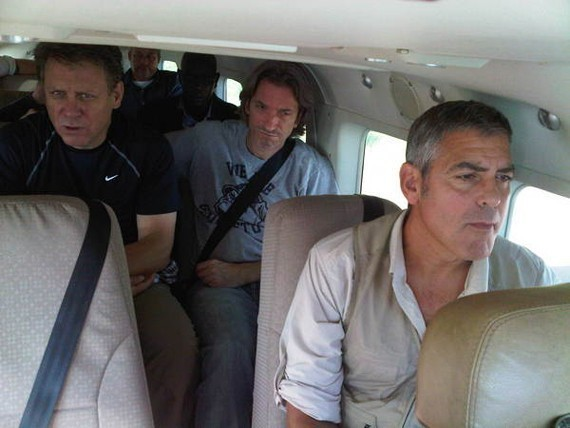 George Clooney Visits Sudan (PHOTOS)