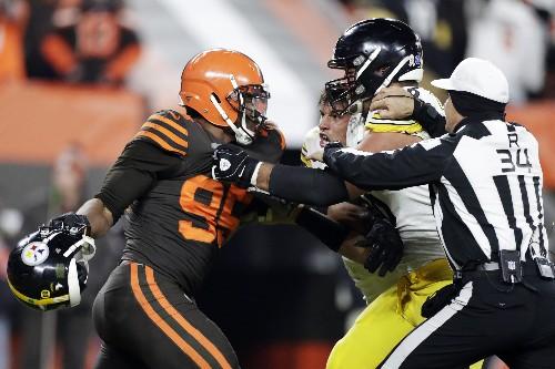Browns' Garrett has suspension appeal set for Wednesday