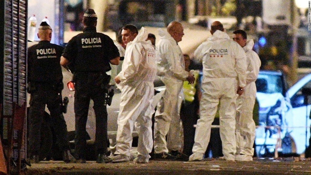 Deadly Barcelona attack is worst in a day of violence in Spain