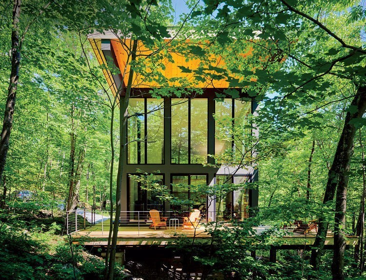 Articles about little cabin reaches such great heights on Dwell.com - Dwell