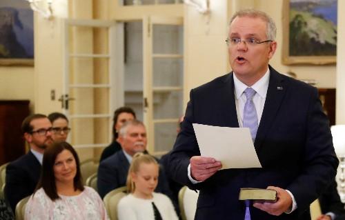 Winning during economic slowdown, Australia's Morrison must halt rot