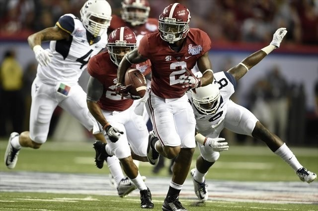 Saban: Alabama WR DeAndrew White suffers separated shoulder