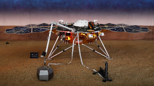 NASA probe records first likely 'marsquake' detected on red planet