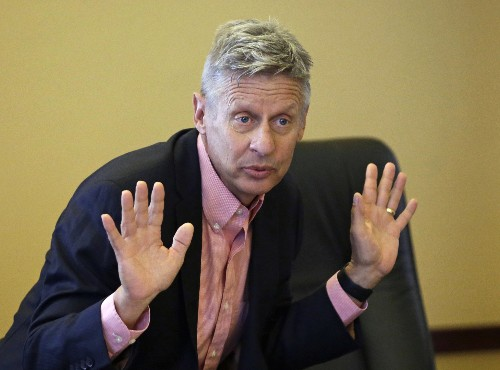 Libertarian says Trump, Democrats need a swing-vote senator