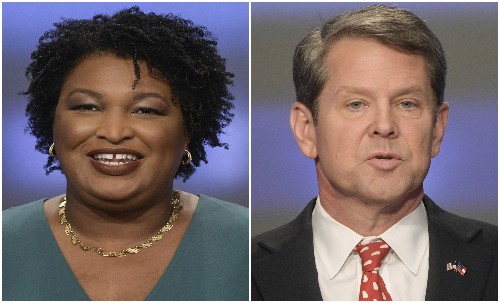 Kemp pushes Abrams to concede in Georgia gubernatorial race
