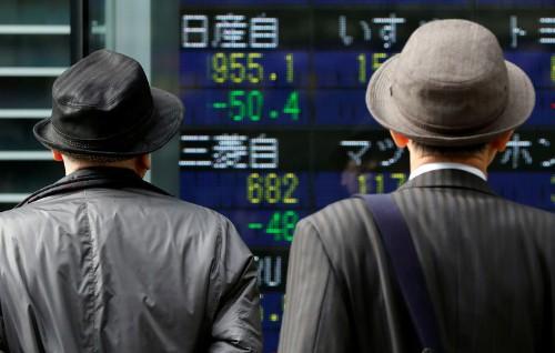 Японские акции выросли, бумаги Mitsubishi подешевели после предупреждения о списании