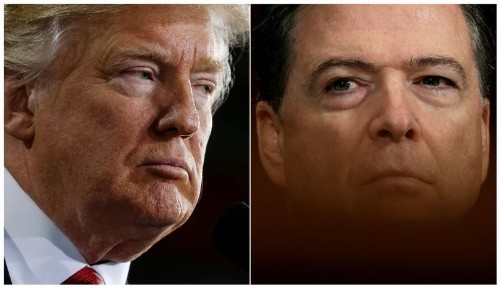 Trump not planning to invoke executive privilege for Comey testimony: NY Times
