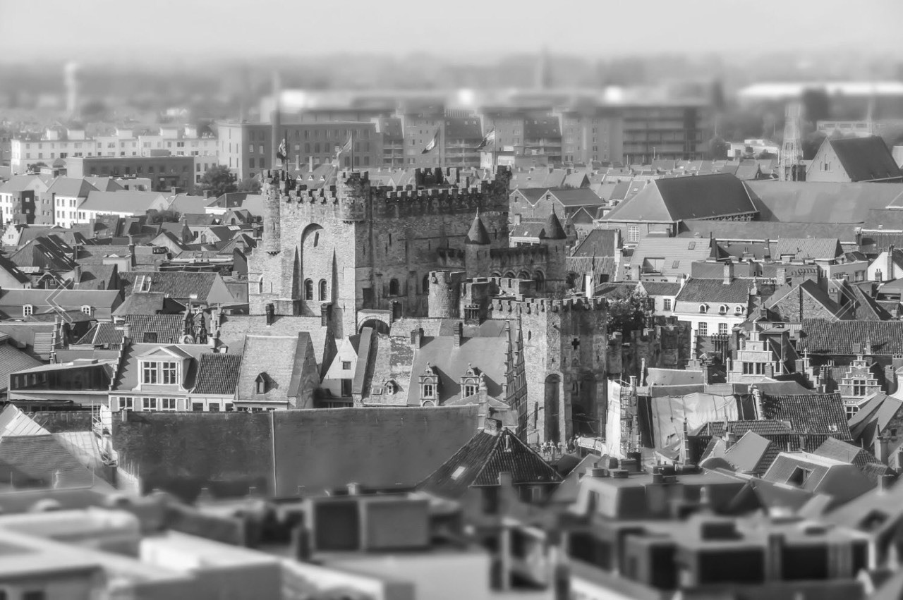 Ghent, from a miniature point of view.
