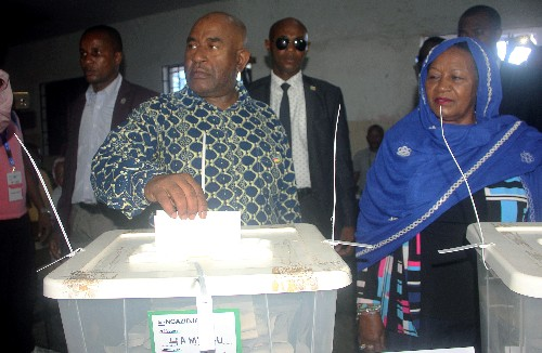 Comoros opposition say presidential vote marred by irregularities