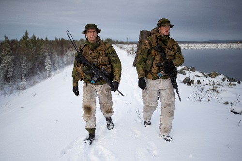 On Norway's icy border with Russia, unease over military buildup