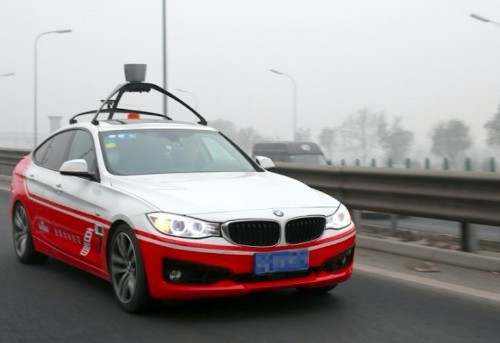 Baidu announces $1.5B fund to back self-driving car startups