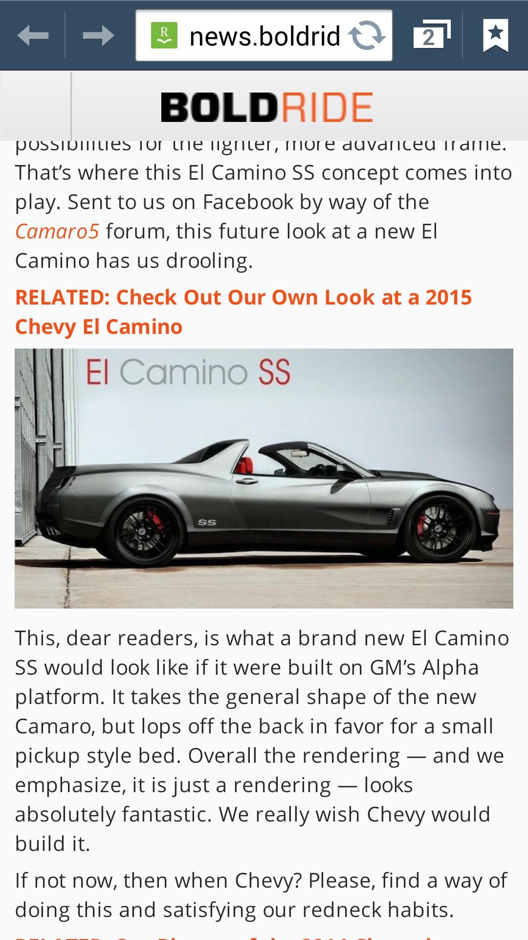New El Camino