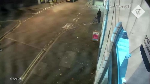 CCTV shows teenager being flung across high street in 'shocking' hit-and-run