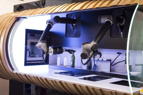 The World's First Home Robotic Chef Can Cook Over 100 Meals