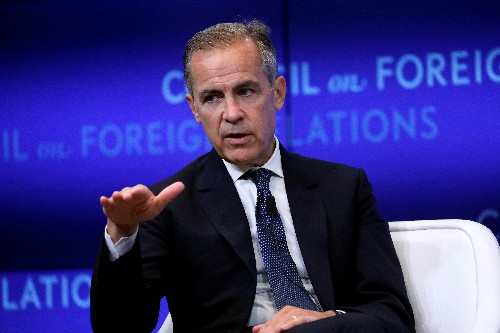 Inverted yield curves 'not a vote of confidence': BoE's Carney