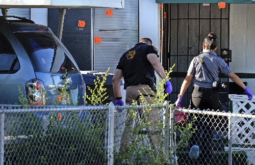 Albuquerque police: 5 people dead after multiple shootings