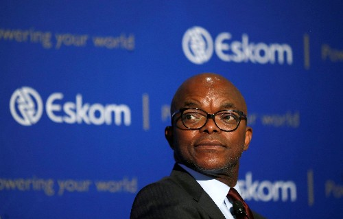 South African government rescued Eskom from default in April
