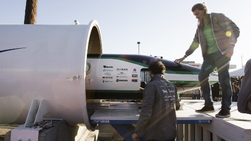SpaceX's Hyperloop competition sees three companies run their pods