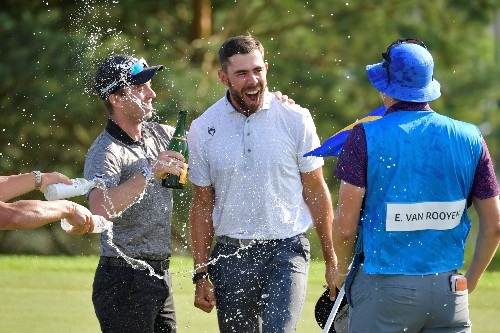 Golf: South African Van Rooyen clinches breakthrough win in Sweden