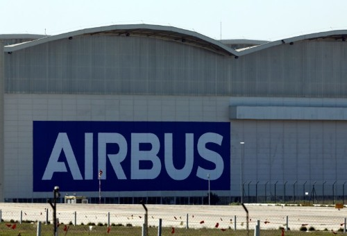 Airbus says plants to reopen at slower production rate