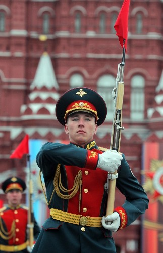 Victory Day Parade in Russia: Pictures