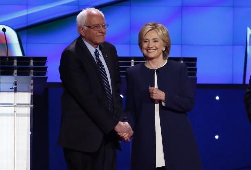 Democrats Debate in Las Vegas: Pictures