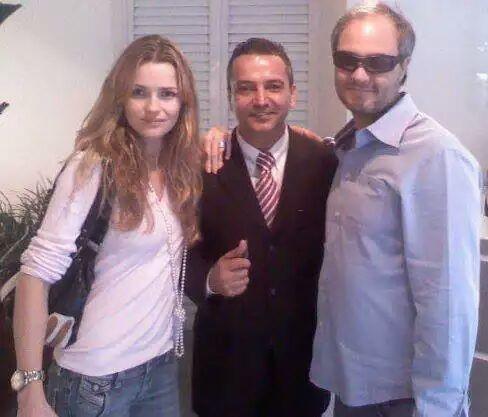 Diretor da Rede Record sr Alexandre Avancini e sua Esposa Atriz Nanda★☆★☆
