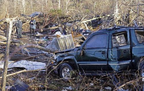 Severe Storms Wreak Havoc in South: Pictures