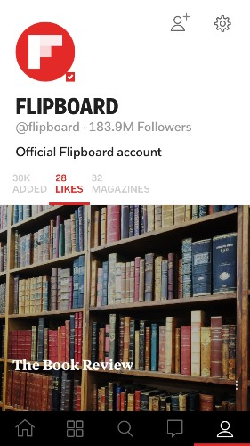 Like What You're Reading on Flipboard? Tap the ❤️