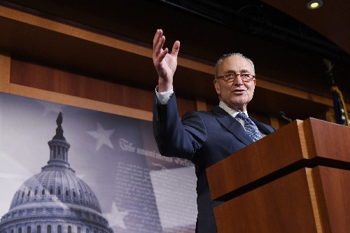 Schumer wants to protect whistleblowers amid Trump payback