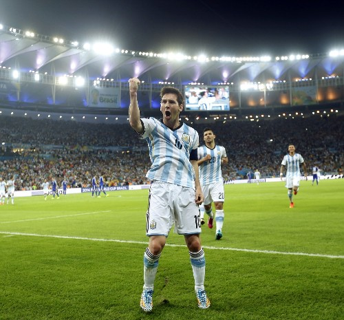 Messi, Seferovic, Benzema Rule: In Pictures