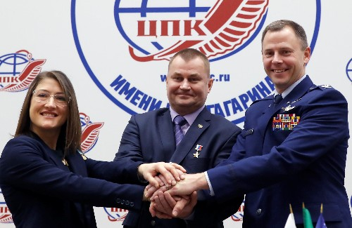 Space crew unfazed ahead of first launch since rocket failure