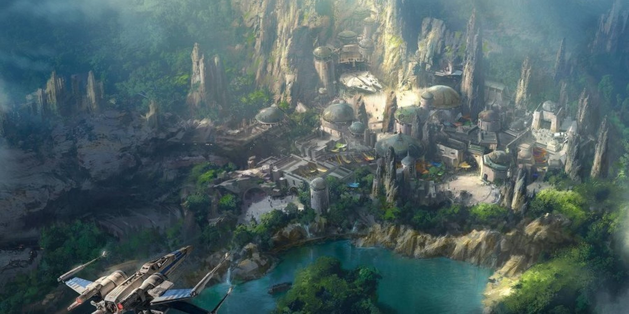 Así será el futuro parque de 'Star Wars' en California