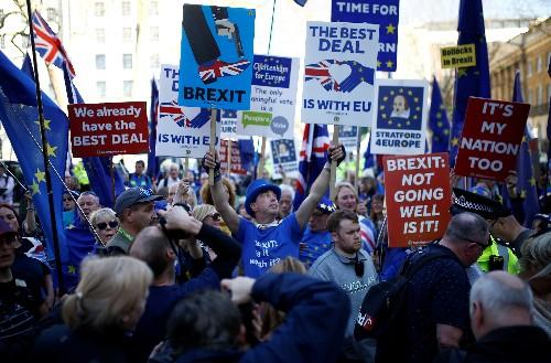 Britain's Labour Party leader backs Brexit referendum