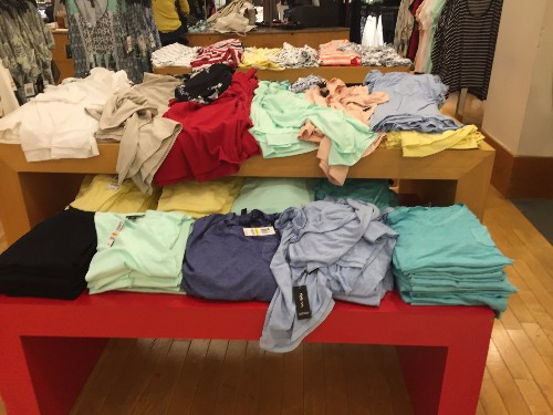 Retailers are trapped in a vicious cycle with clutter — and it's contributing to the industry's 'dirty open secret'