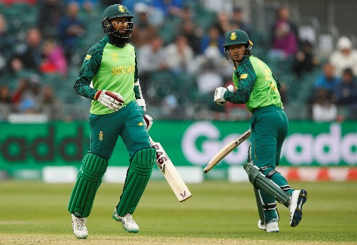 Cricket: South Africa's final World Cup warm-up with Windies washed out