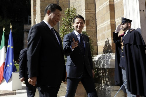Italy, China sign accord deepening economic ties
