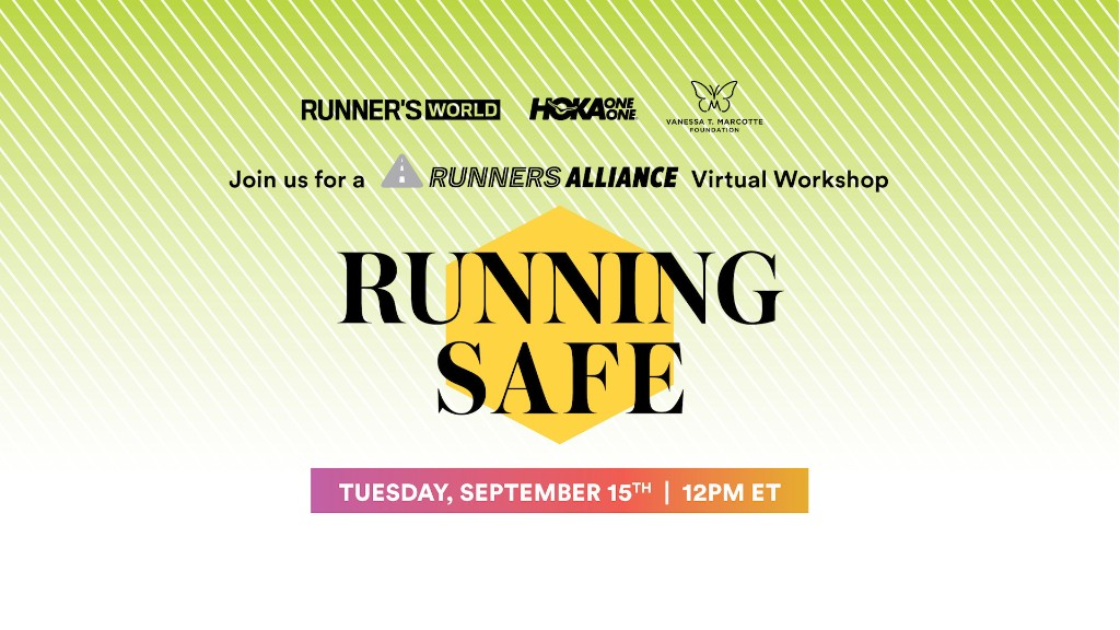 Running Safe: A Runners Alliance Virtual Workshop with Taylor Dutch