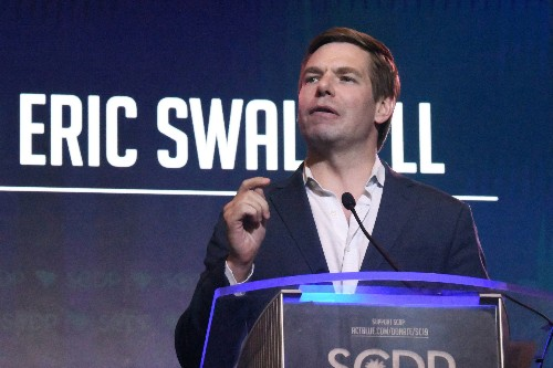 US Rep. Swalwell ends presidential bid, will seek reelection