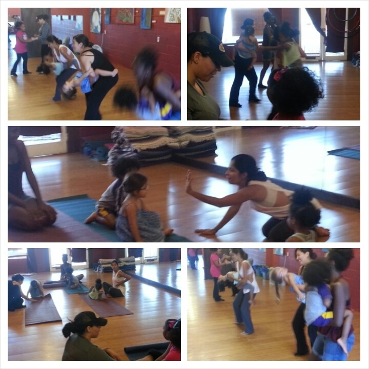 """LRI's 1st """"Mami, Daddy & Me"""" class was such a gorgeous sight to see the parents and kids having an amazing time to wonderful salsa and cha cha music!"""