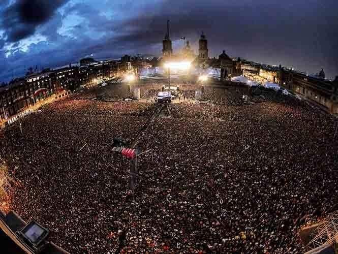 En concierto de Waters 464 personas necesitaron atención médica