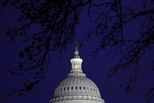 The Latest: Capitol fireplaces go cold for impeachment trial