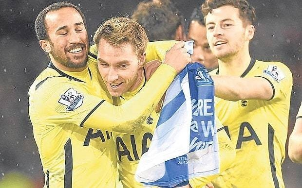 Tottenham's Christian Eriksen senses time is right to spring Wembley surprise against Chelsea in League Cup