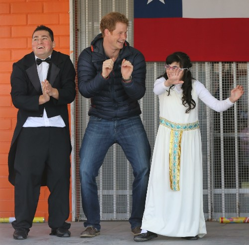 Prince Harry Goes To Chile