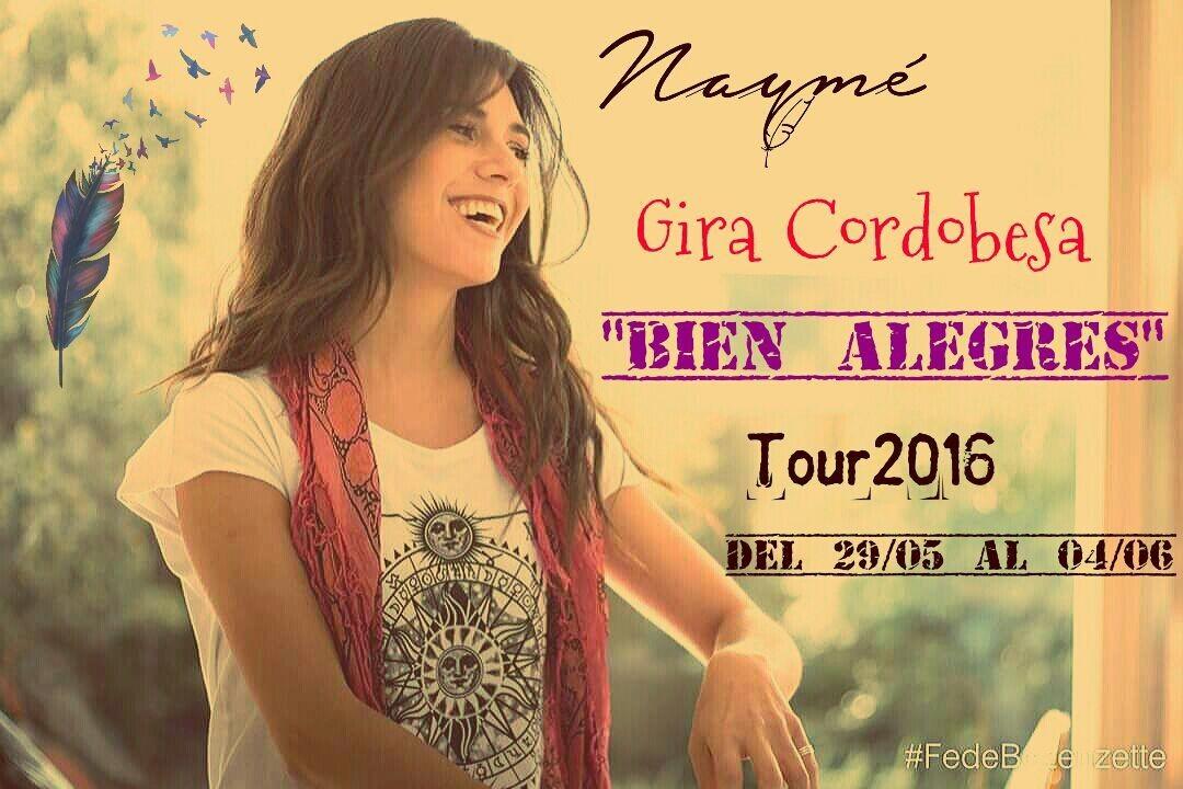 Gira Prensa junto a Naymé #BienAlegres +info www.acvfolclore.com.ar