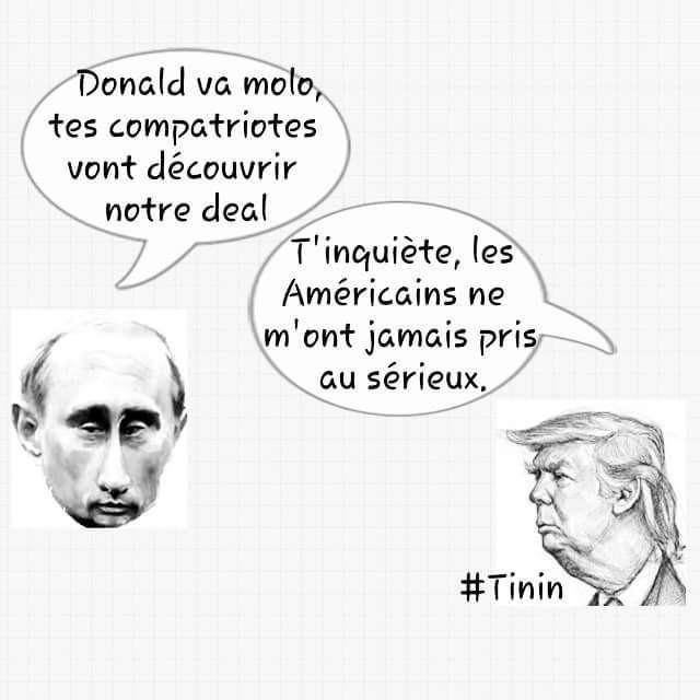 #USA Amitié américano-russe, à quoi joue Trump?