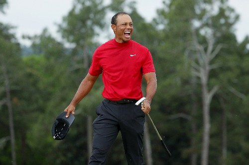Golf: Tiger Woods says Nicklaus's record in crosshairs
