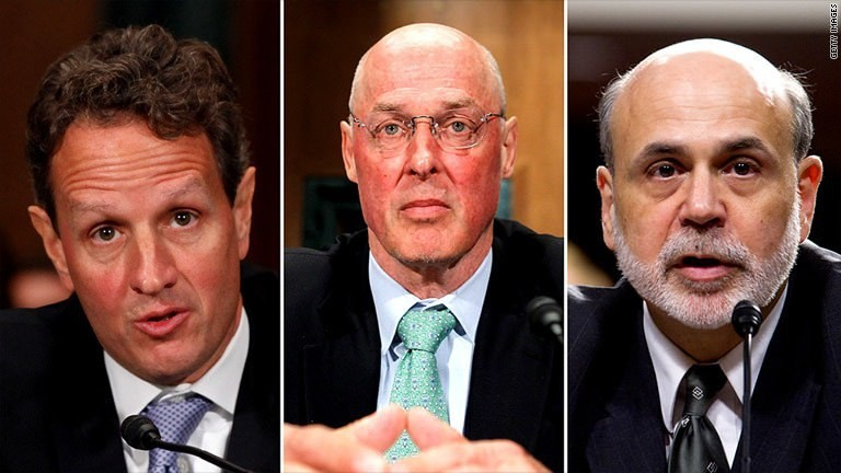 AIG trial puts Geithner, Bernanke and Paulson on hot seat