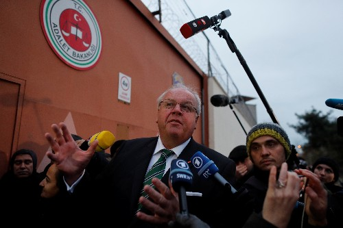 German ambassador says Turkey should explain charges against arrested lawyer