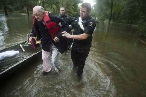 'It's bad': Water rescues begin as Imelda soaks east Texas